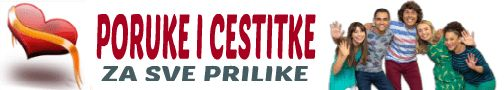 PORUKE I ČESTITKE