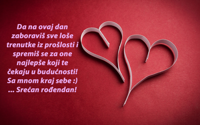 ljubavna poruka za rođendan Ljubavne rodjendanske čestitke za devojku | PORUKE I ČESTITKE ljubavna poruka za rođendan
