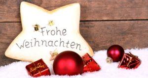 božićna čestitka na njemačkom Čestitke za Božić i Novu godinu na više jezika | PORUKE I ČESTITKE božićna čestitka na njemačkom